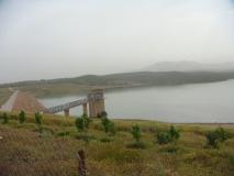 Barrage de 127 millions de m3 Ouled-Mellouk (Aïn Defla)