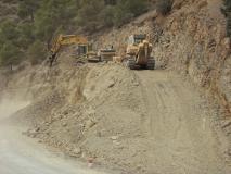 Travaux d'aménagement sur 32 Km et réalisation de l'évitement d'Ighil-Ali et Aït-R'zine sur 08 km, RN106 W.Béjaïa