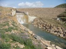 Réalisation d'un petit barrage a Quitlène- M'sila